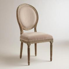 One of my favorite discoveries at WorldMarket.com: Cocoa Paige Round Back Dining Chairs, Set of 2