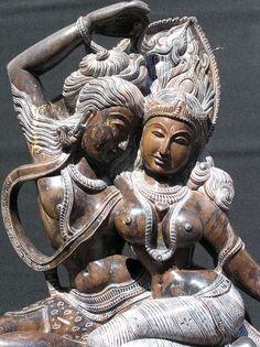 Shrutam Deva - Devi and Shiva dancing and conversing