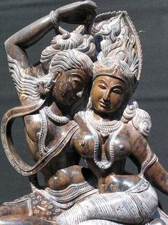 Shrutam Deva - Devi and Shiva dancing and conversing