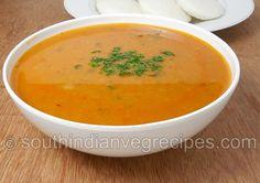 sambar recipe for idli
