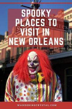 scariest place in new orleans, haunted places new orleans, most haunted place in new orleans, new orleans spooky, real haunted houses in new orleans, ghosts of new orleans, voodoo in New Orleans, haunted hotel in New Orleans, Vampires in New Orleans, Casket Girls in New Orleans, new orleans ghost sightings, scary things to do in new orleans, spooky New Orleans, dark side of New Orleans, dark things to do in New Orleans #NewOrleans #Spooky #haunted #thingstodo #louisiana #wanderingcrystal