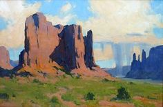Touching Down by Bill Cramer Oil ~ 24 x 36