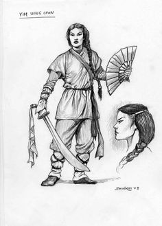 Yim Wing Chung was taught fighting techniques by Buddhist nun, Ng Mui. Later, she married Leung Bac-Chou and taught him this fighting style, which was later named after her -- Wing-Chung.