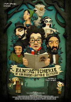 Fantasticherie Poster Art. https://www.behance.net/gallery/20631573/Fantasticherie-Poster-Art