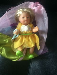 ZAPF CREATION BABY mini baby born MY MINI BABY BORN FLOWER FAIRIES 14 cm Gelb