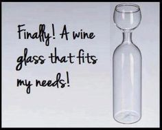 Now that's a glass of #wine! #funny