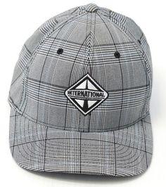 ss Flexfit 6197 Tartan Plaid Fitted Baseball Blank Plain Hat Ballcap
