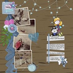 Friends-FURever is a great kit for National Pet Day! Girls Best Friend, Best Friends, National Pet Day, Digital Scrapbooking, Whimsical, How To Draw Hands, Kit, Shop, Design