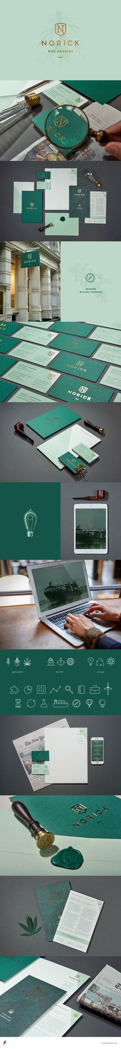 Norick Brand Identity by Braizen on Behance