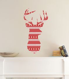 DCWV Home Christmas Wall Decal: Joy | Holiday Wall Decor ...