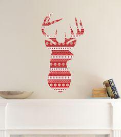 DCWV Home Christmas Wall Decal: Joy | Holiday Wall Decor ...