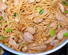 Pork Lo Mein: great recipe!
