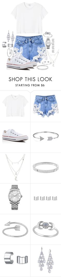 """Simple Set"" by galaxygirl12427 ❤ liked on Polyvore featuring Monki, Converse, Bling Jewelry, Charlotte Russe, Michael Kors, Calvin Klein, Maison Margiela, Midsummer Star and Carolee"