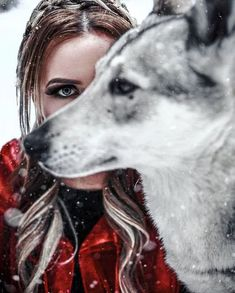 Helping successful single women attract committed masculine men through femininity & feminine embodiment coaching. Fantasy Photography, Girl Photography, Animal Photography, Werewolf Girl, Animals And Pets, Cute Animals, Wolves And Women, Fantasy Wolf, Wolf Love