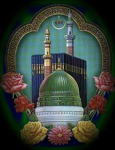 Mecca Masjid, Palestine Art, Mosque Architecture, Mubarak Images, Allah Wallpaper, Tanjore Painting, Imam Hussain, Islamic Images, Arabic Art