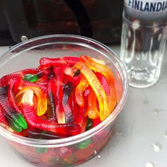 Playing With My Food!: Drunken Vodka Gummy Worms