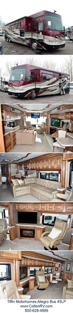 ...decadence at it's finest - not that there's anything wrong with it!!!!! <g> Tiffin Motorhomes Allegro Bus 45LP