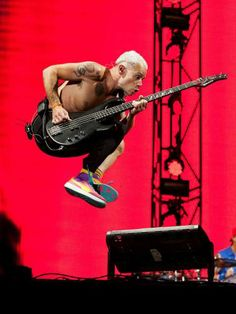 Red Hot Chili Peppers' bassist Flea