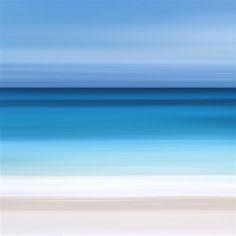 Ombre Ocean by Katherine Gendreau. #ugallery