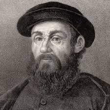 Ferdinand Magellan was an explorer from Portugal. He was the first man to sail all the way around the Earth in a circle, proving that the Earth was round and not flat. He sailed all over until he was killed by natives in the Philippines.