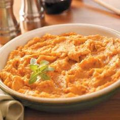 Chipotle Sweet Potato and Spiced Apple Purees Recipe from Taste of Home. -- Submitted by Shannon Abdollmohammadi from Woodinville, Washington. All the details are at http://greekfood-recipes.com/posts/Chipotle-Sweet-Potato-and-Spiced-Apple-Purees-Recipe-58432