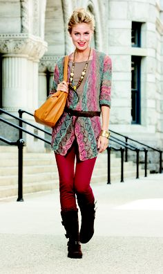 The Vintage-Inspired Boot: Finish off a casual tunic-legging pairing with stylish boots. #ThePlaylist #FallTrend #Kohls