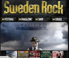 Sweden Rock Festival website 2013