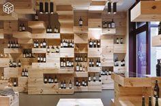 Rayonnage & Gondole modulable - Caisse en bois