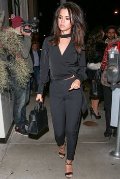 Selena Gomez at Catch LA Restaurant in West Hollywood, December 3rd