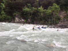 Le temps pluvieux est plus agréable en équipe avec notre de la nage.  #TeamEVP #Durance #HautesAlpes #Cédric #Rabioux