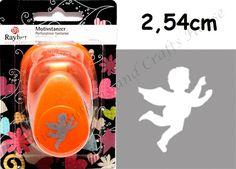 Stanzer - Motivlocher Engel 2,54cm Motivstanzer Christkind - ein Designerstück von Vanice-Buttons bei DaWanda