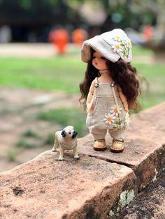 Children Style, Tiny Dolls, Doll Stuff, Doll Toys, Bjd, Doll Clothes, Kids Fashion, Mini, Hats
