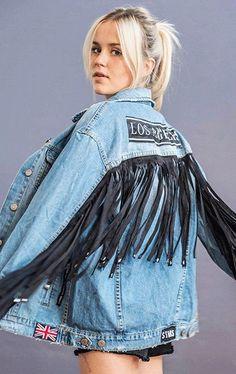 Resultado de imagen para jean jacket diy