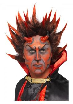 Devil make up set. This make-up will look terrific with our Halloween costumes… What are you waiting for?