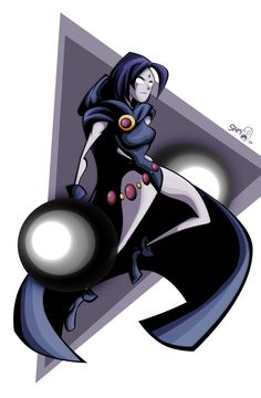 Raven by on DeviantArt Teen Titans Characters, Dc Characters, Batgirl, Catwoman, Raven Pictures, Hq Dc, Beast Boy, Teen Titans Go, American Comics