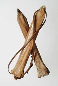 §§§ : Medieval ice skates made from animal bones : 1100