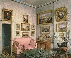 1000 images about period interiors in art on pinterest. Black Bedroom Furniture Sets. Home Design Ideas