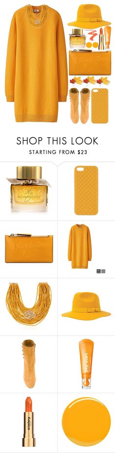 """""""Golden Sunset"""" by grozdana-v ❤ liked on Polyvore featuring Burberry, Gucci, Uniqlo, Rosantica, Brixton, Maison Margiela, Clinique, Sisley and Yves Saint Laurent"""
