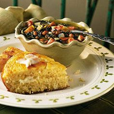 Skillet Cornbread Great slathered with butter or for sopping up stews ...