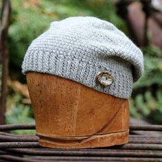 Slouchy beanie handmade Rasta hat slouchy beret by UpthePitt