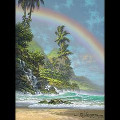 """Unframed Giclee on Canvas Image Size: 16"""" x 12"""" Artist Enhanced Editions are…"""