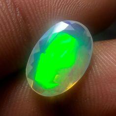 2.3 Carat Earth Mined Ethiopian Welo Fire Opal 13.8x9.4 MM Oval Shape Cut Stone #Unbranded