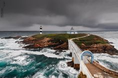 "Photo ""La Isla de los dos Faros"" by Roberto Graña (@RobertoGrana) #500px http://500px.com/photo/23964009"
