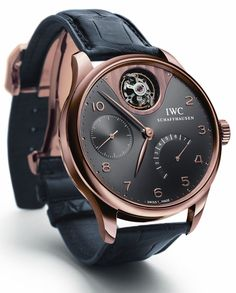 IWC Portuguese Tourbillon Mystère - what a great looking watch - very masculine