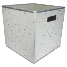 "Decorative Fabric Boxes Halfsize Fabric Cube Storage Bin 13""  Threshold™  Playroom"
