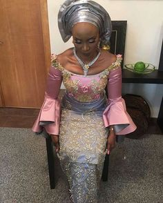 Beautiful Lady on Fleek in Beautiful outfit by @shakaracouture
