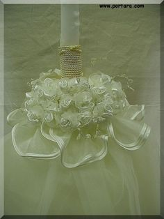 Choose the very special Holy Unity Candles for application in weddings as a type of word of determination and oneness. Baptism Candle, Baptism Favors, Baptism Ideas, Floating Candle Centerpieces, Unity Candle, Persian Wedding, Irish Wedding, Engagement Party Favors, Nontraditional Wedding