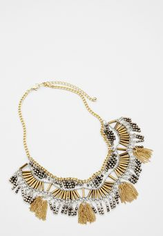 beaded statement nec
