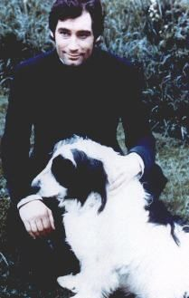 Timothy Dalton - dressed as Rochester - with Pilot :)