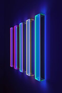 Neon Aesthetic, Aesthetic Rooms, Neon Lighting, Strip Lighting, Home Decor Furniture, Home Decor Bedroom, Light Art Installation, Art Installations, Home Recording Studio Setup
